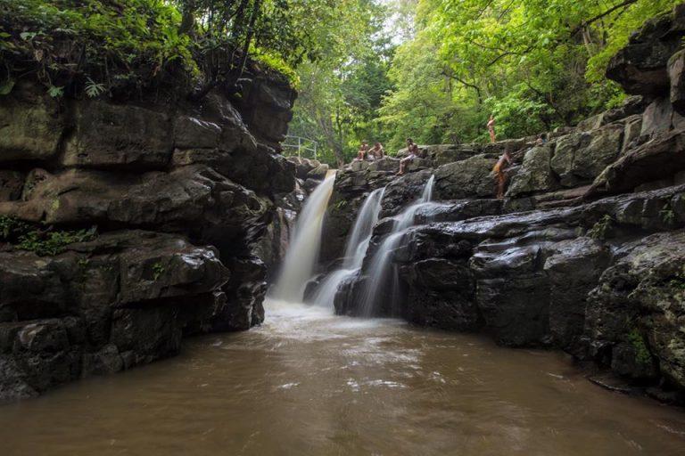 Parque Nacional La Muralla, Olancho fue un escenario perfecto para descansar de este gran recorrido que están a punto a terminar en Honduras, Ernesto y Taisa.