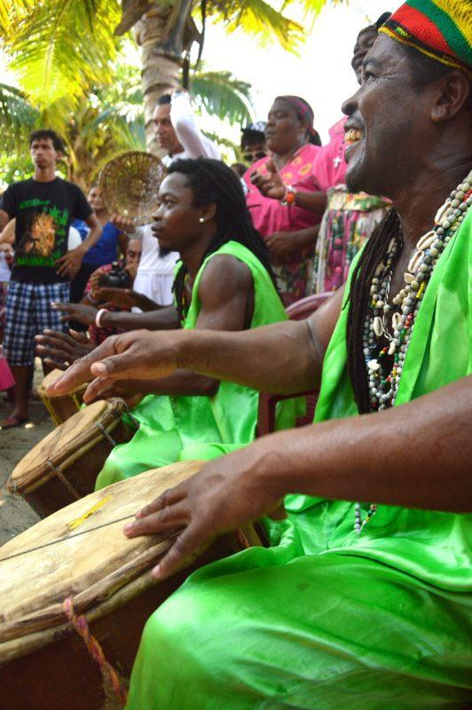 Los garífunas son la cultura viva con mayor presencia en el Norte de Honduras.