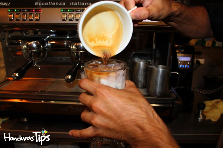 El concepto traído desde Copán para atrapar a los sampedranos amantes del buen café.