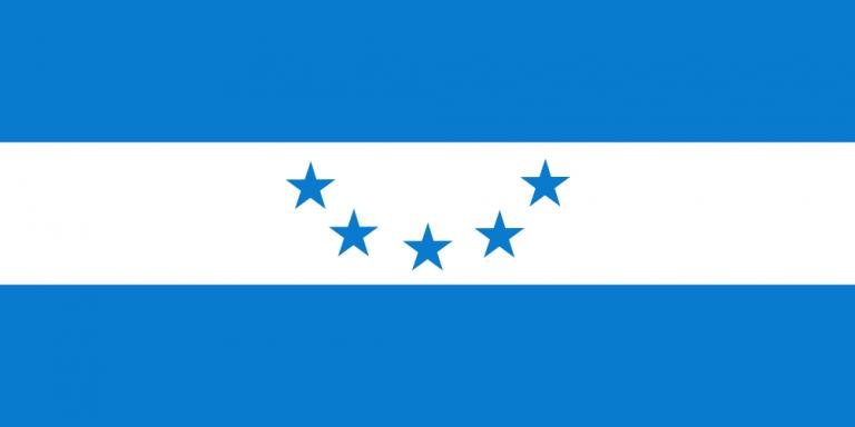 La Bandera Nacional de Honduras a través de los años.