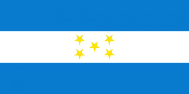 Así ha evolucionado la Bandera Nacional de Honduras a través de los años