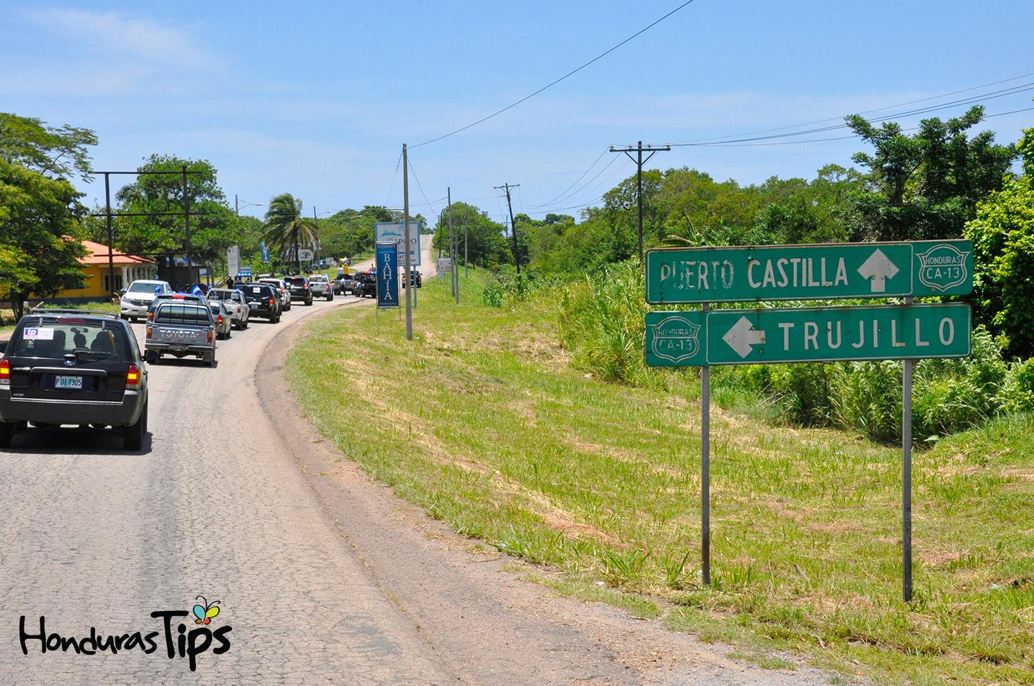 Caravana de Identidad llegó a territorio trujillano minutos después de mediodía. El clima fue ideal para la ciudad costeña.