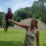 Mamá de Piqué visita Copán Ruinas