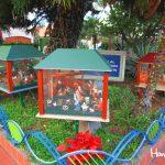 En el complejo hotelero Plaza San Martín, está la gran variedad de nacimientos que expresan el verdadero sentido de la Navidad.