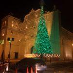 La Catedral de Comayagua luce hermosa, con sus arreglos navideños.