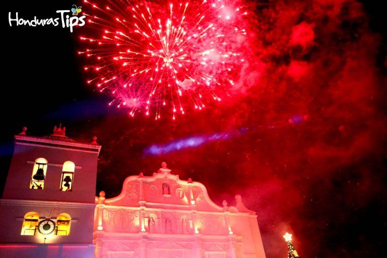 Comayagua se está convirtiendo en el destino preferido para recibir año nuevo, aquí la fiesta empieza desde noviembre.