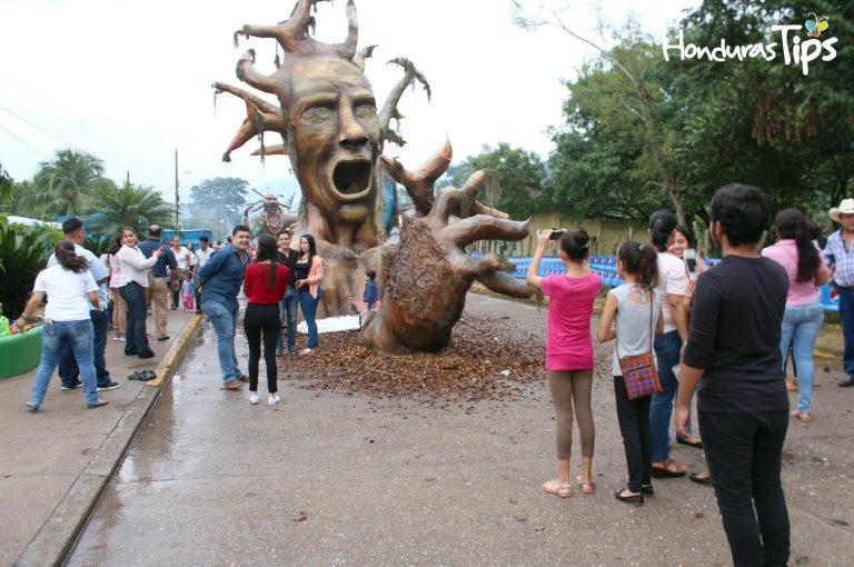 Las Chimeneas Gigantes fueron dramáticas obras de arte.