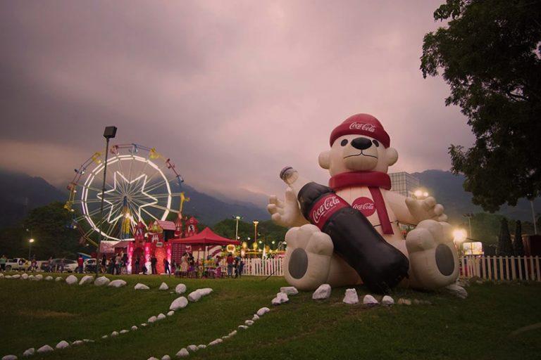 La Villa navideña de San Pedro Sula es de las más visitadas en Honduras.