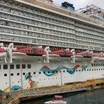 El crucero Caribbean Princess llevó a Roatán más de 4 mil pasajeros y 1,700 miembros de la tripulación.