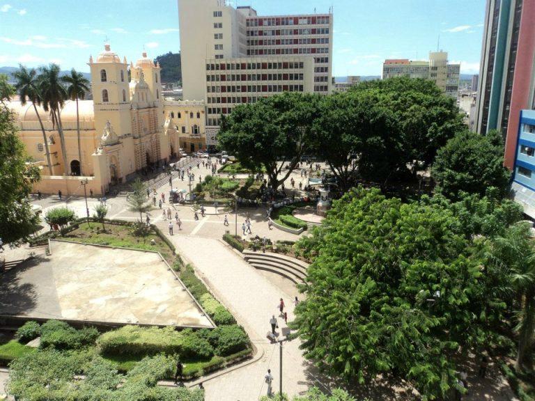 Casco histórico de Tegucigalpa