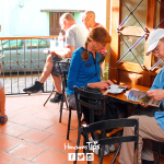 Tardes de café en Copán Ruinas.