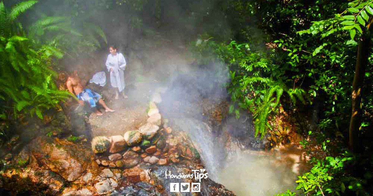 Ocho balnearios de aguas termales en Honduras