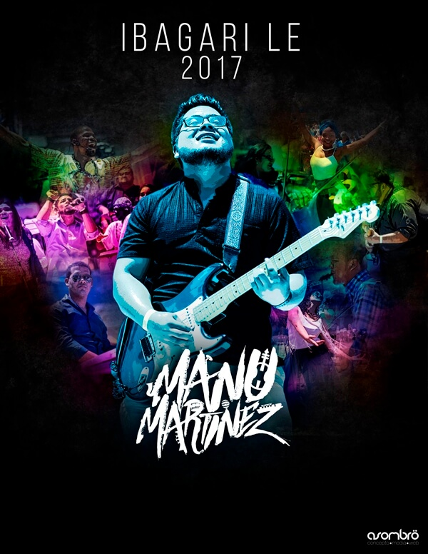 Afiche oficial del próximo proyecto de Manu Martínez.