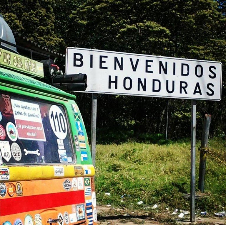 A mediados de febrero entraron a Honduras, y aún les queda mucho por visitar.