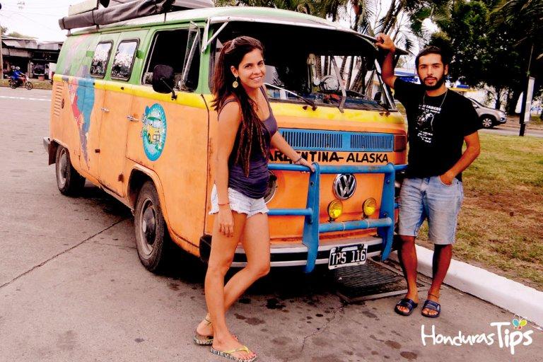 Los argentinos disfrutan de Honduras...Sin ningún problema.