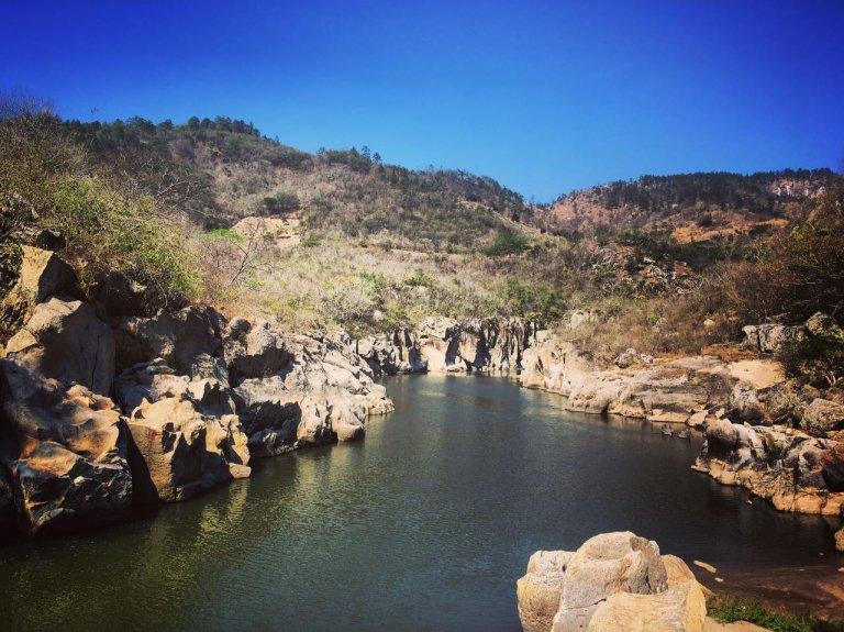 Río Higuito un atractivo oculto en el Occidente de Honduras.