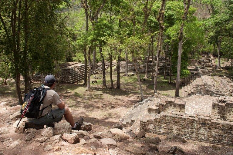 Copán Ruinas se constituye en el principal atractivo arqueológico de la región.