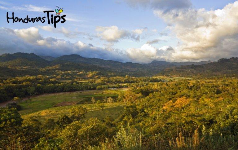 Honduras landscape - Copan Ruins area