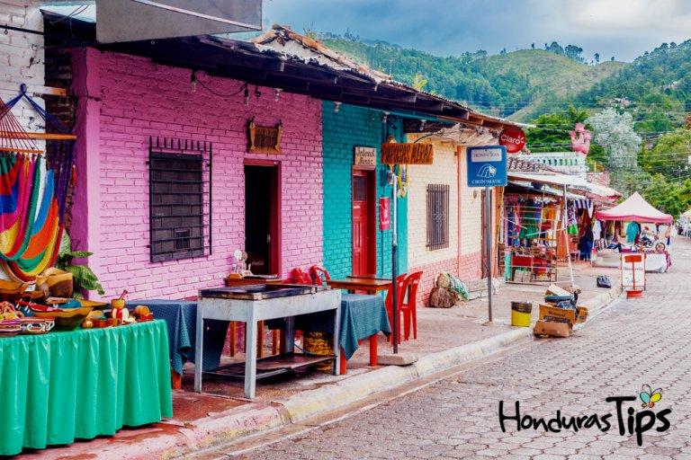 Valle de Angeles old Spanish mining town near Tegucigalpa, Honduras