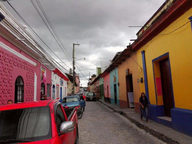 Las calles y casas de Santa Rosa son similares a Antigua Guatemala.