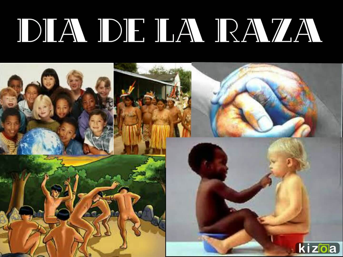 Dia De La Raza Collage