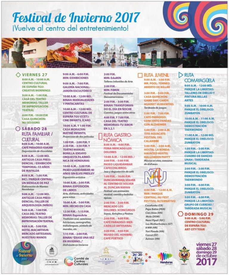 Programa Festival de Invierno