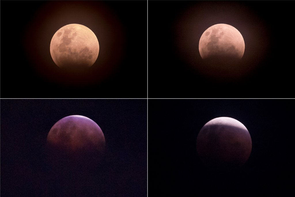Proceso lunar / AFP PHOTO / BAY ISMOYO