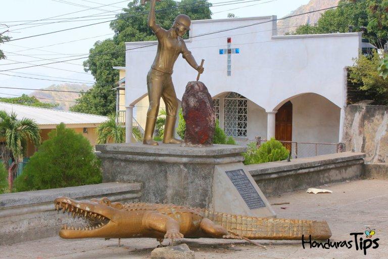 Uno de los mitos más populares de El Corpues es el famoso lagarto de oro.