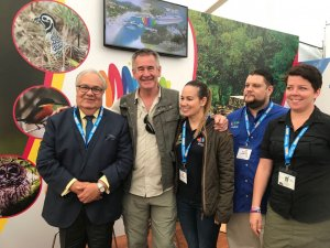 >Honduras se destacó en la Feria de Aviturismo Birdfair en Londres
