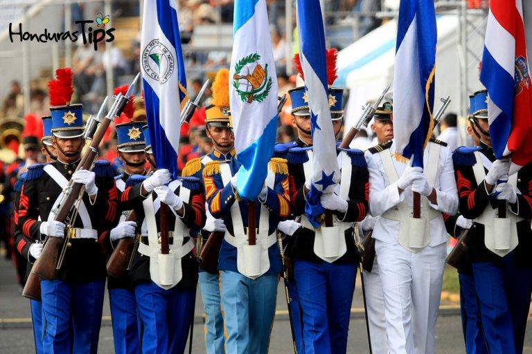 Las fiestas patrias se celebran con cívismo y orgullo por Honduras.