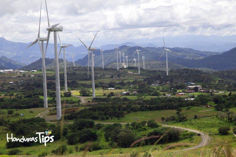Parque Eólico Cerro de Hula.