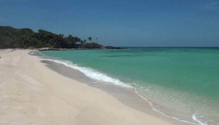 Playa de Camp Bay en Santos Guardiola.