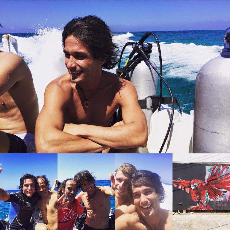 El buceo es una experiencia que disfrutó el periodista en el archipiélago.