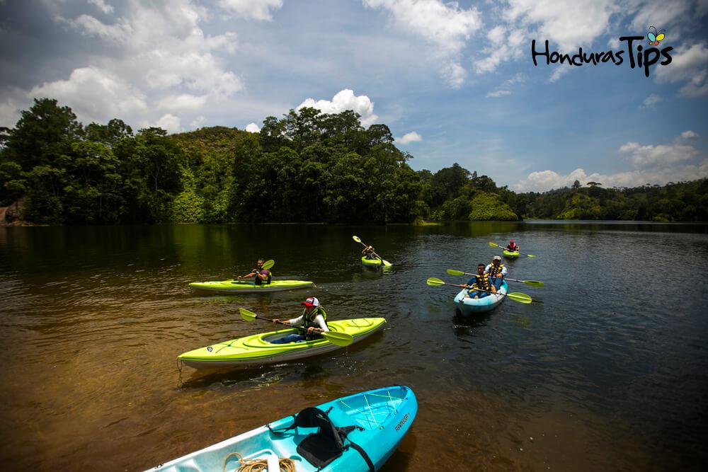 Kayak en Panacam