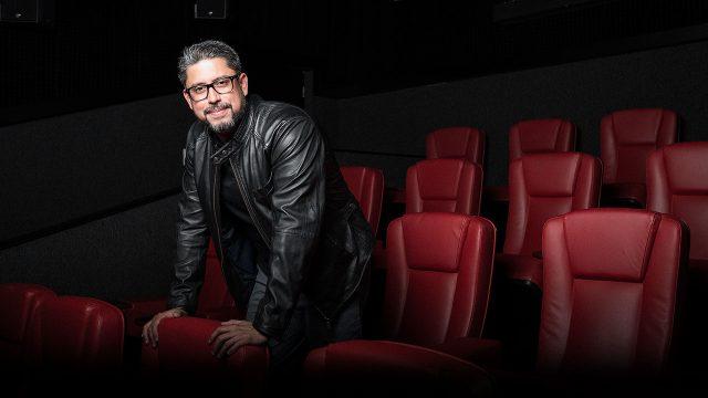 Cineasta hondureño Alejandro Irías.