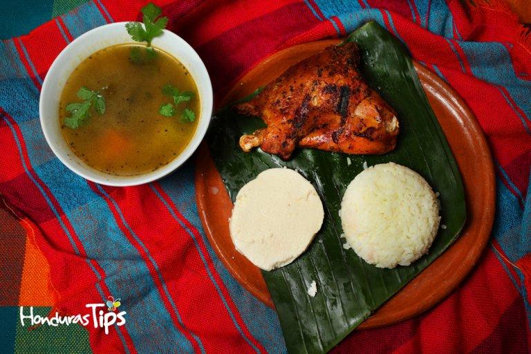 Este platillo es uno de los manjares que puede disfrutar en el Restaurante Lenca Maya