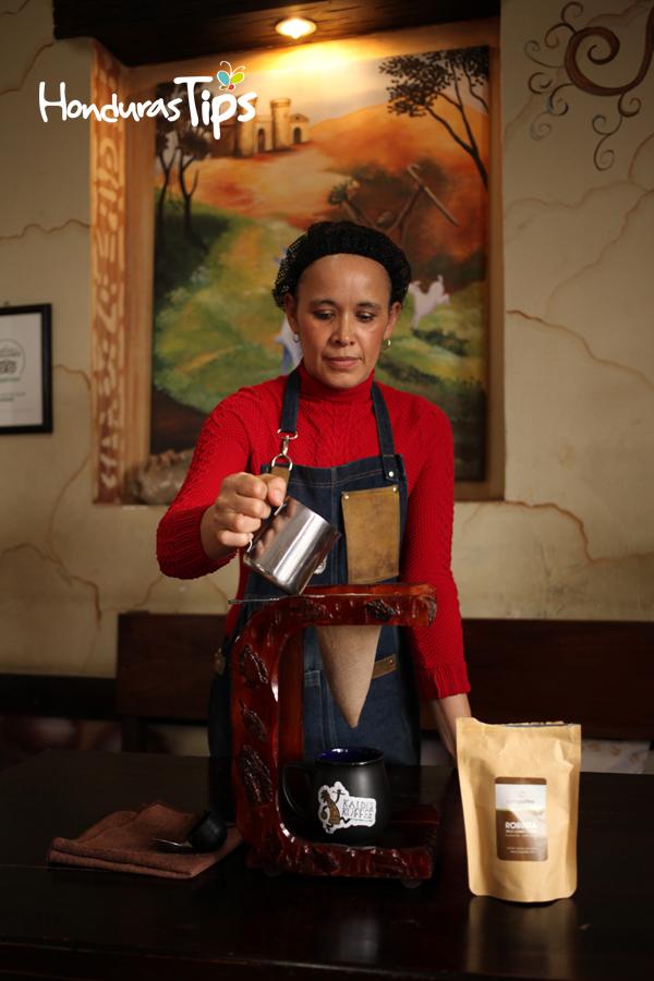 Aquí se ofrece el café más caro del mundo.