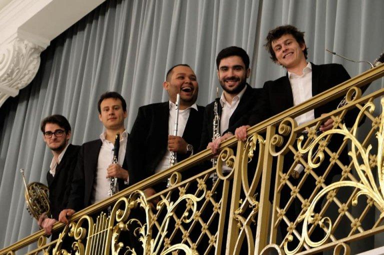 Jorge Rodríguez con su grupo Barialro Quintet.