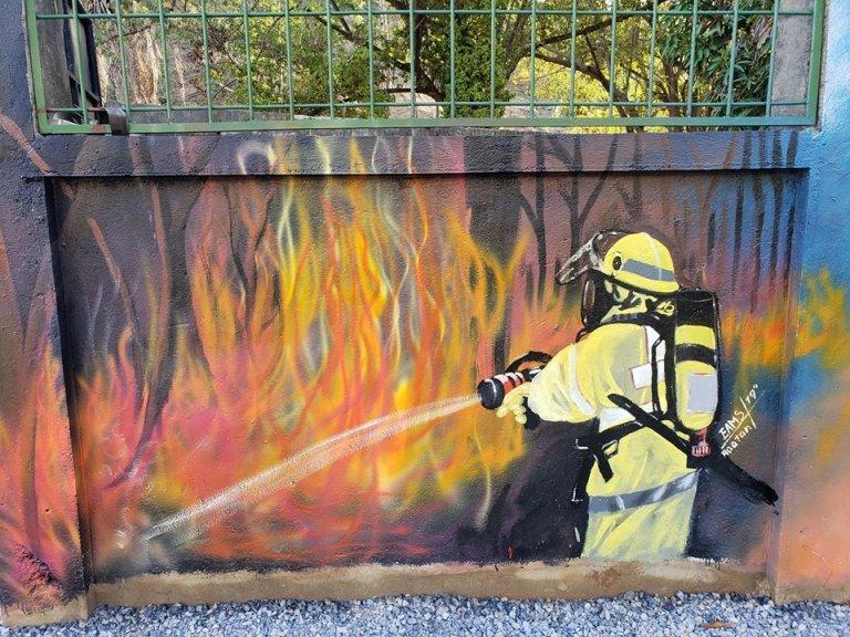 La protección ambiental marca la referencia de los murales.