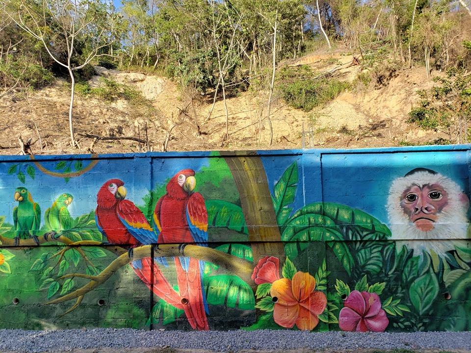 Mural Roatán - Brisas del Valle 5