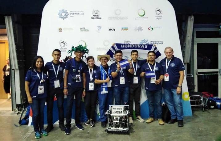 Honduras - Mundial de Robótica 2019