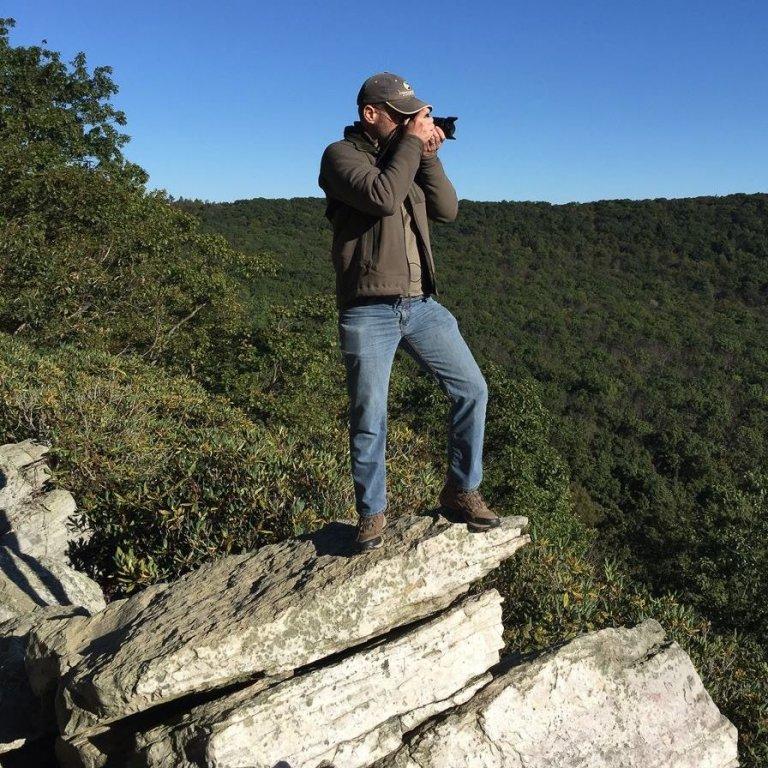 Chris Fischer fue el encargado de registrar la singular ave.