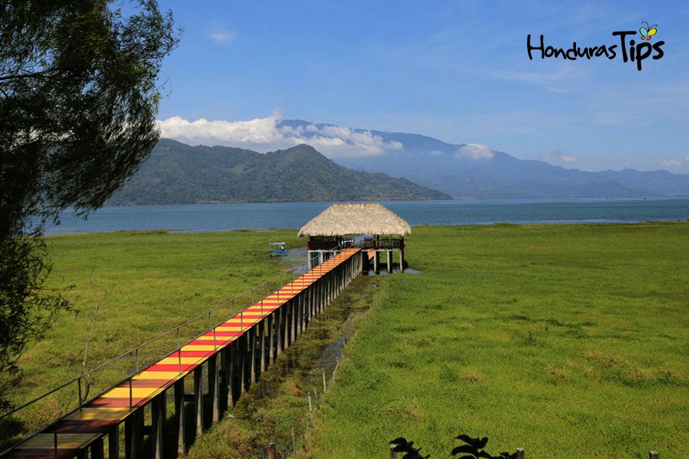 lago de yojoa muelle
