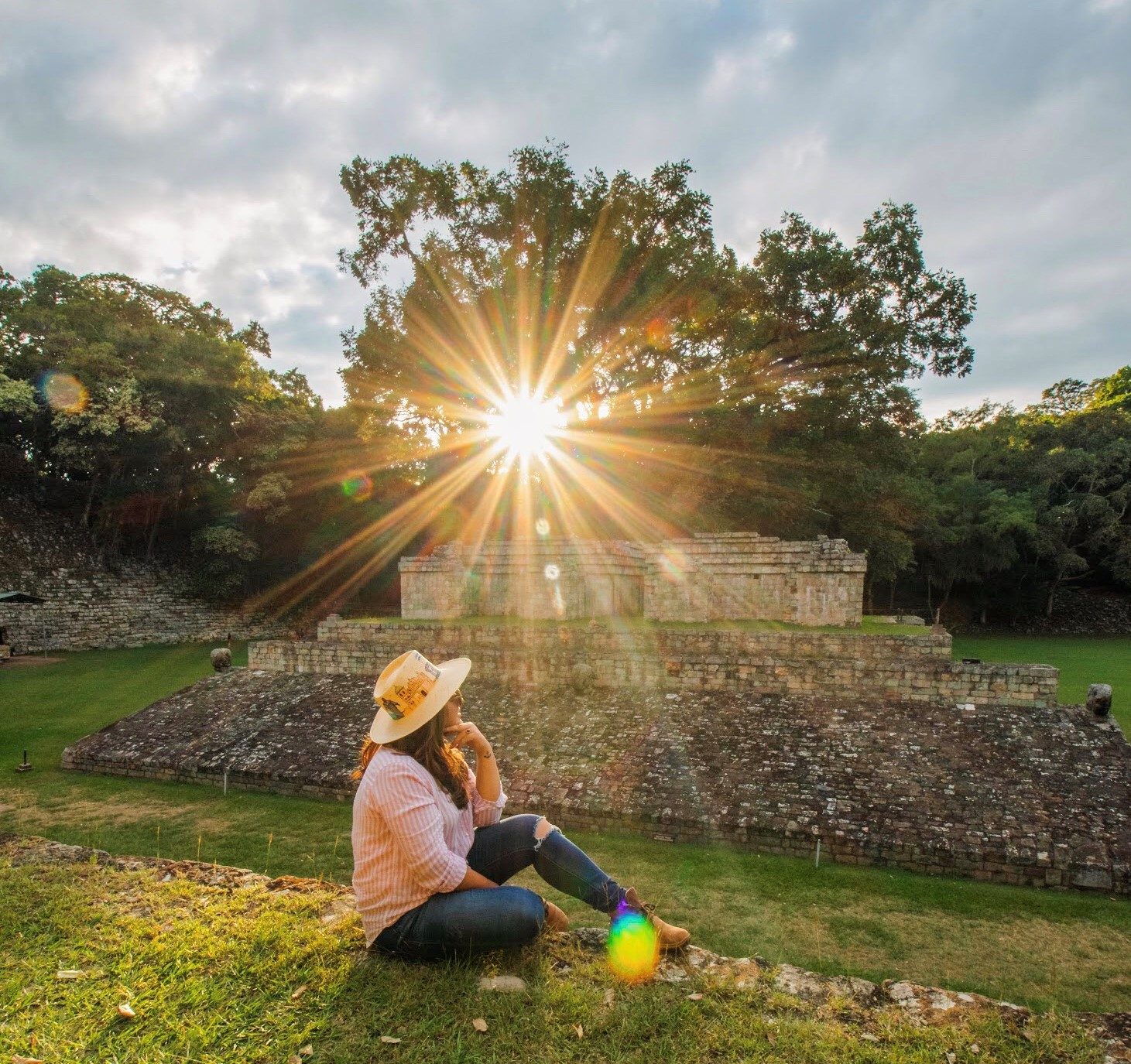 Copán Ruinas es otro de los destinos que la viajera recomienda conocer.