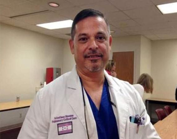 Miguel Sierra Huffman, especialista hondureño en enfermedades infecciosas.