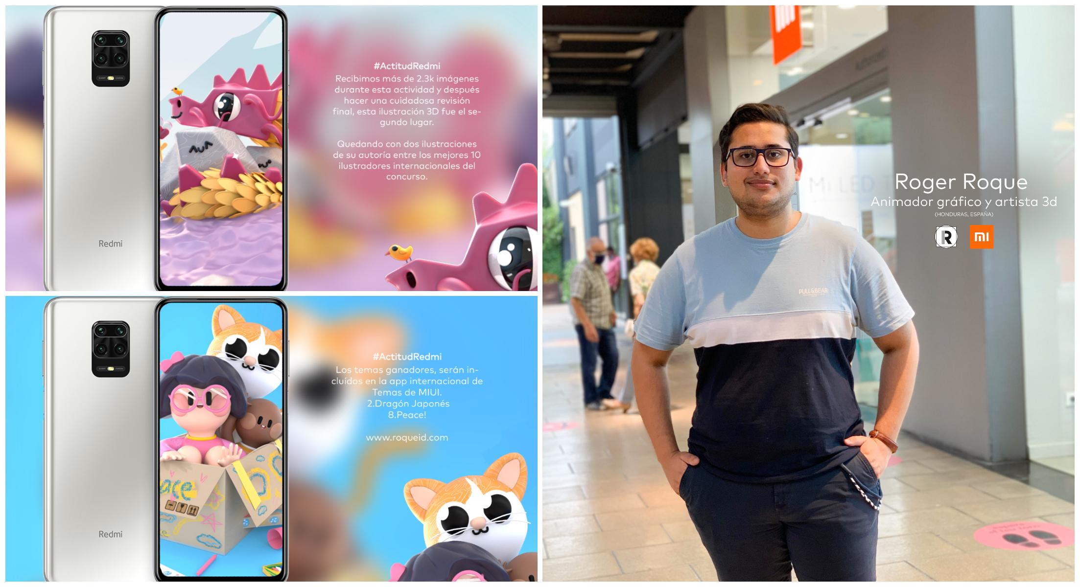 El hondureño Roger Roque gana premio creando fondos de pantalla en España